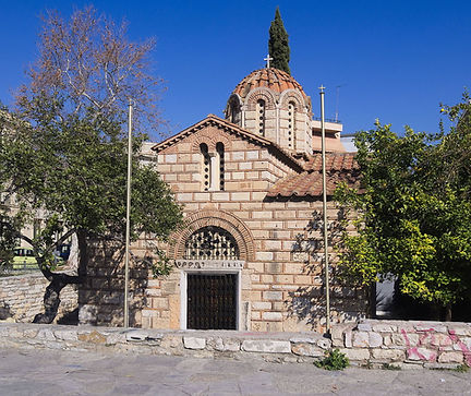 Agion Asomaton Orthodox Church, Athens, Greece