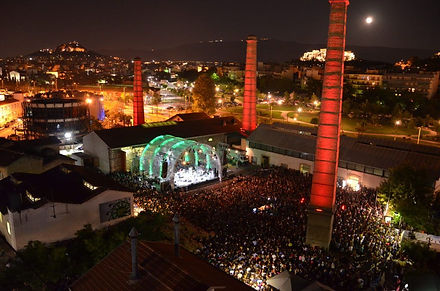 Technopolis, Gazi, Athens, Greece