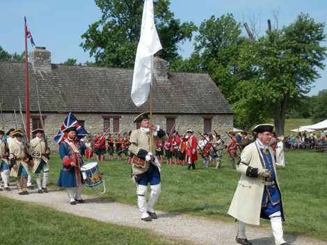 L3 French Marine Ceremony Recreation at