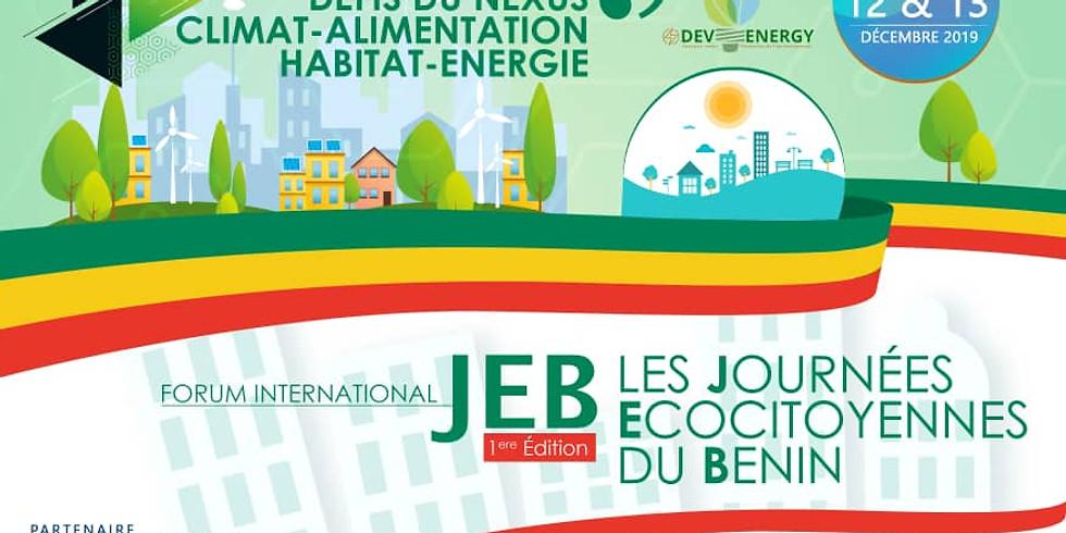 Forum International - Les journées écocitoyennes du Bénin