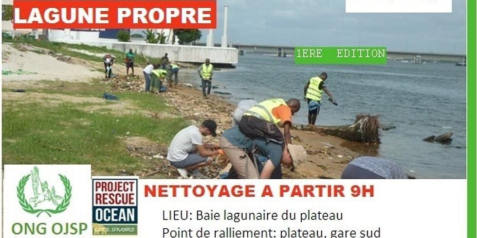 """Opération """"Ma Lagune Propre """" 1ère Édition ,OJSP"""