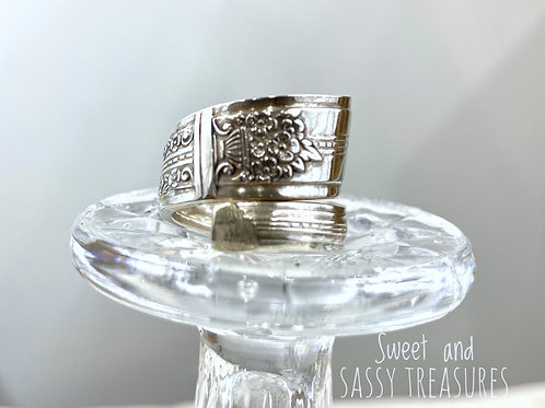 #14) Spiral Spoon Ring