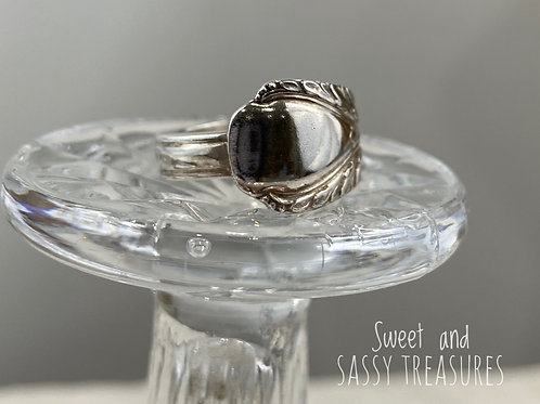 #10)  Spoon Ring