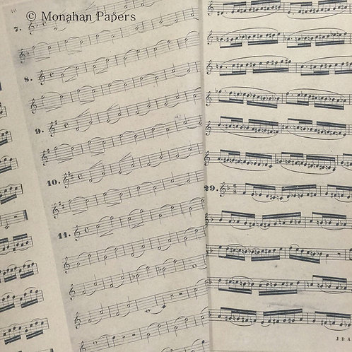 Monahan Paper Music Wrapping Paper Roll