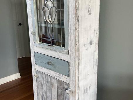 DIY Custom Built Window Cabinet, Custom Paint