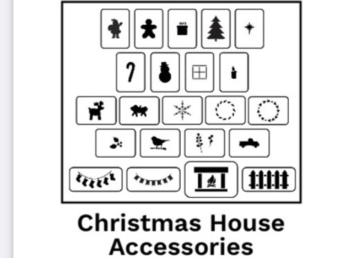 Christmas House Accessories