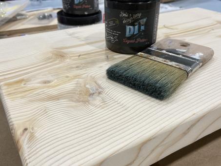 BOHO Painted Wooden Tray DIY