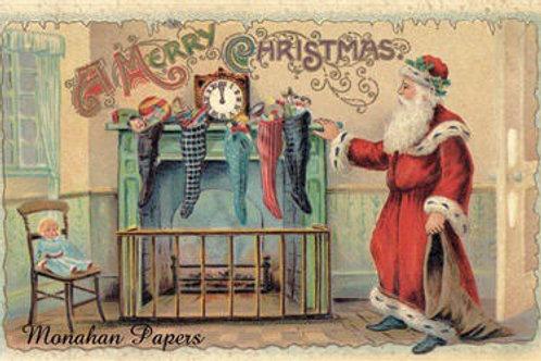 Santa and Stockings