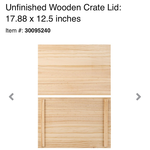 Wooden Project Board (set of 3)