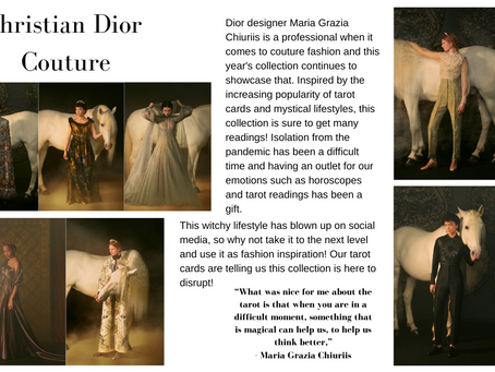 Dior Couture Show 2021: Turning Tarot Cards Into a Fashion Inspiration