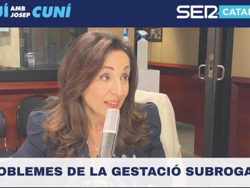 """JOANA MARÍN FONSECA COLABORA EN EL PROGRAMA """"AQUÍ AMB JOSEP CUNÍ"""" DE LA CADENA SER."""
