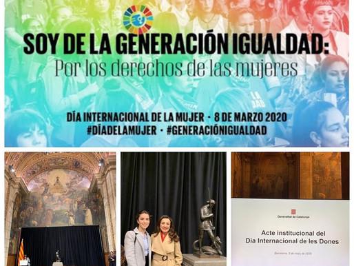 """ACTO INSTITUCIONAL DEL """"DIA DE LA DONA"""" 2020"""