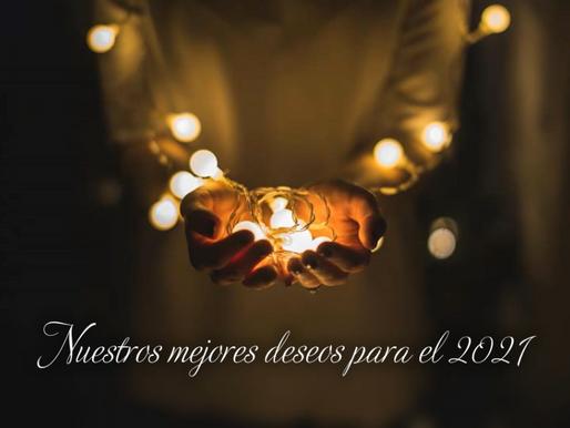 FELIZ ENTRADA AL NUEVO AÑO 2021!
