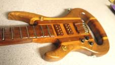 The Maxie Barricuda Guitar Walking Cane