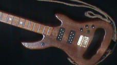 Ibanez Stingray inspired guitar cane