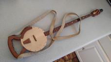 The Maxie Masters Banjo Cane