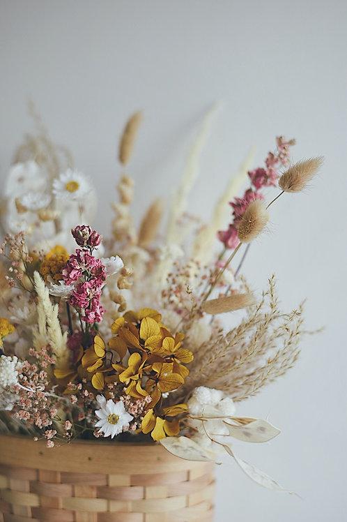 NINA, le panier suspendu fleuri