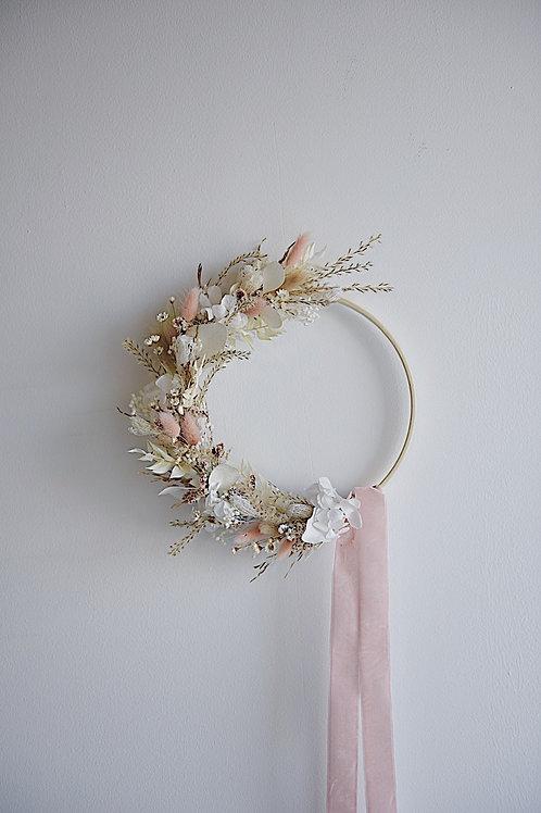 ROSA, la demie couronne de fleurs séchées