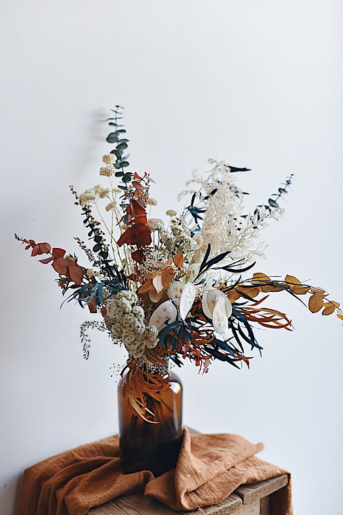 LÉON,  le bouquet de fleurs séchées