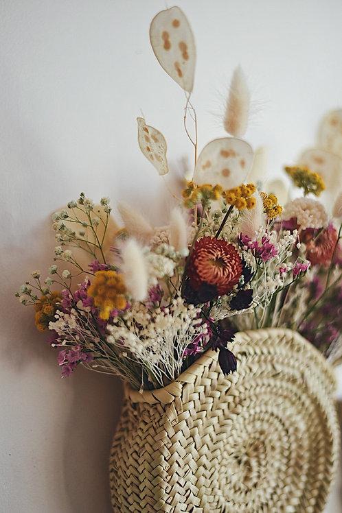 S O L E N N E, le panier fleuri