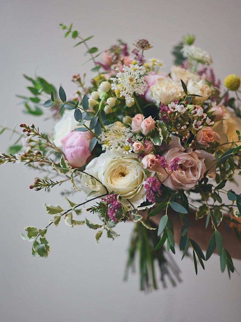 Bouquet de mariée.