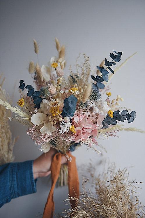 AMA, le bouquet de fleurs séchées