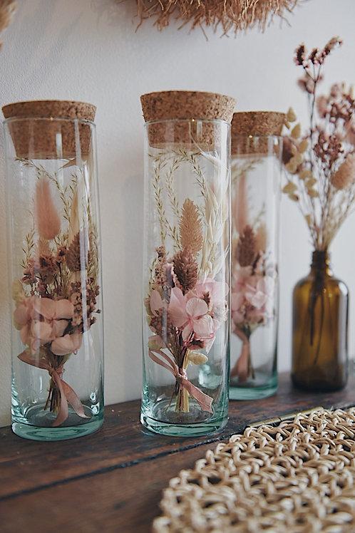 MORGANE, la fiole de fleurs séchées