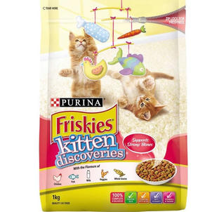 Friskies Kitten Dry Food