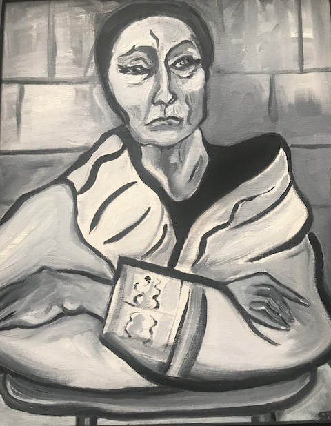 Louise Nevelson at Rest