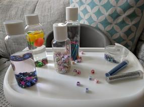 Sensory bottles για μωρά