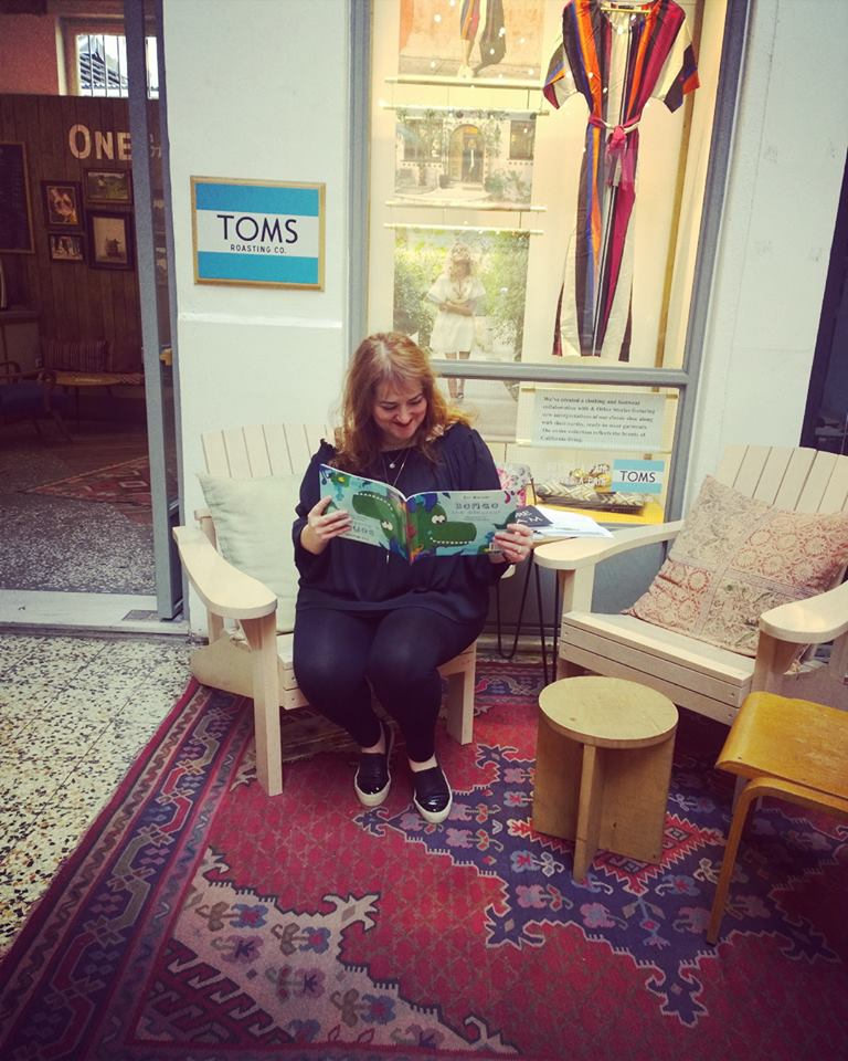 Reading at TOMS Thessaloniki
