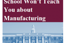 New Daman White Paper: What Business School Won't Teach You about Manufacturing