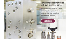 Daman Collaborates with Sun for Stainless Steel Manifold Assemblies