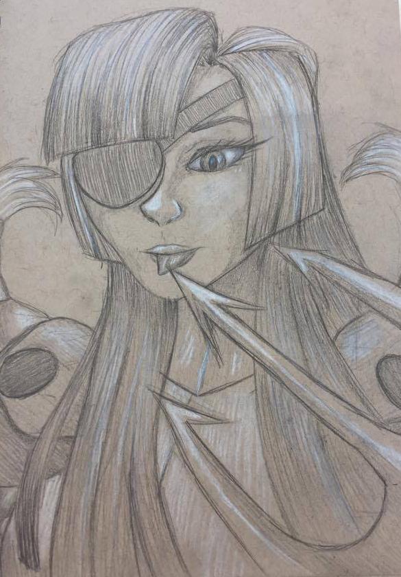 Irene Sketch