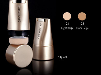 lafine cosmetics - Catalina Geo: Skin and Face - Skin Expert Multi-function Foundation Set