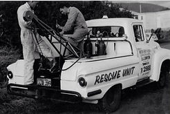 Eric and Len Sampson - rescue unit