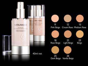 lafine cosmetics - Catalina Geo: Skin and Face - Fisso Foundation