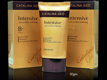 lafine cosmetics - Catalina Geo: Skin and Face - Intensive BB Cream SPF35++