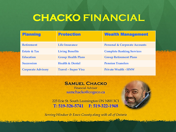 Sam Chacko - Advertisement.png