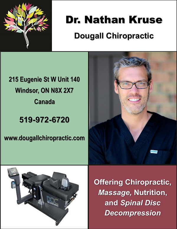 Advertisement - Dr Kruse, Dougall Chirop