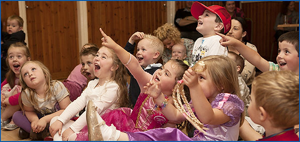 children's party leicestershire