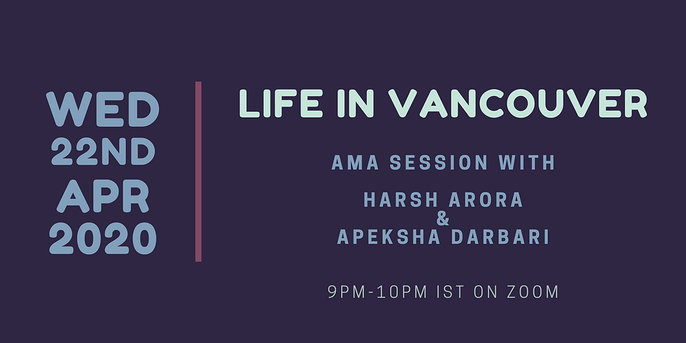 Life in Vancouver - Expert AMA