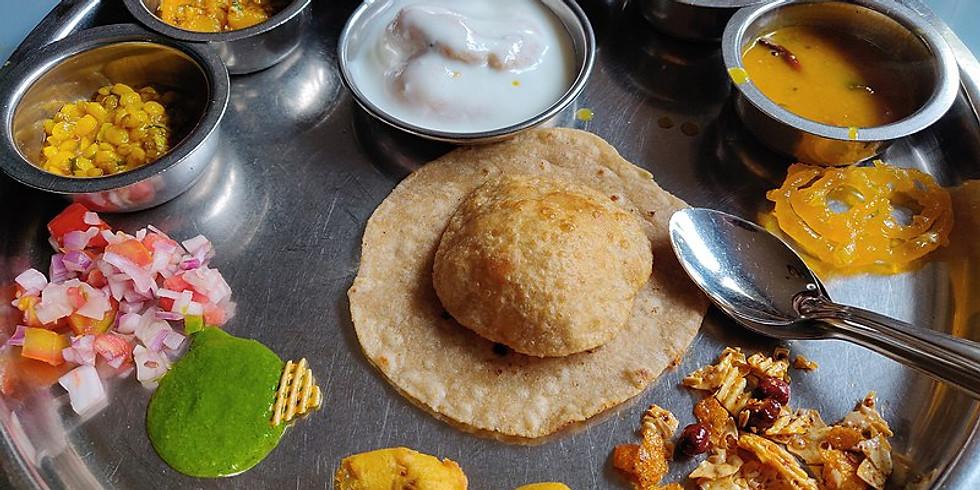 Gujarati Thali Brunch Meetup