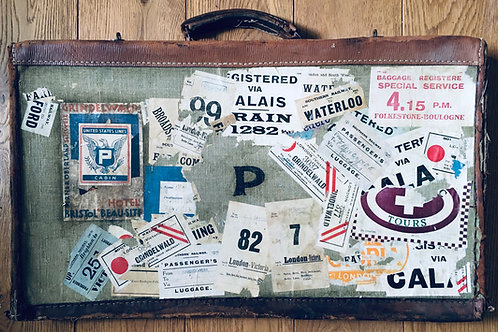Aunt Joan's 1930's Travels