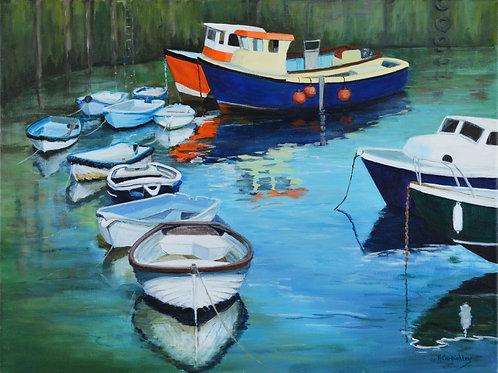 Mevagissey Boats 2