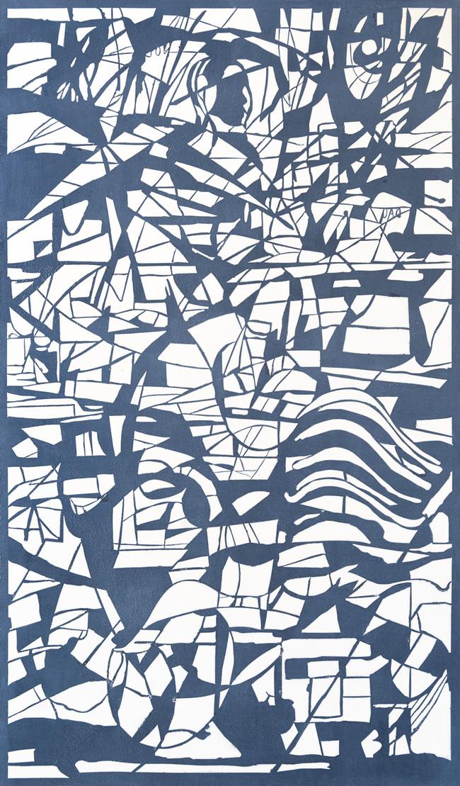 Mar azul Medida de la placa: 70x42 cm  Medida total del papel: 80x54 cm  Técnica: Grabado  Edición: 13 grabados numerados $16,000 MXN