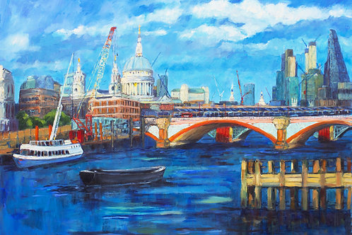 Black Friars Bridge, River Thames