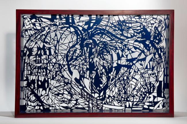 Cuore, 2016 54x80x10 cm Acero.