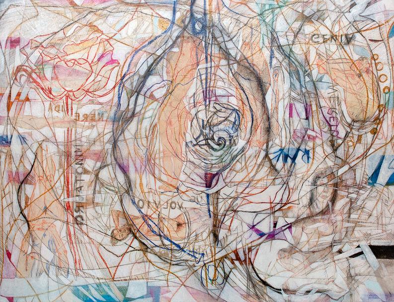Minotauro, 2014 143x186 cm Acrílico sobre tela