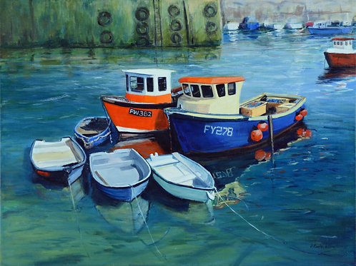 Mevagissey Boats 3